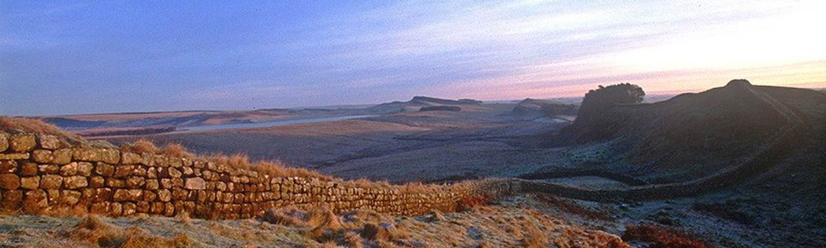 Hadrian's Wall dawn